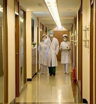 洛阳毛大夫美莱整形医院走廊jpg
