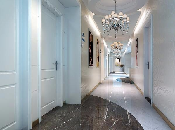 病房区走廊