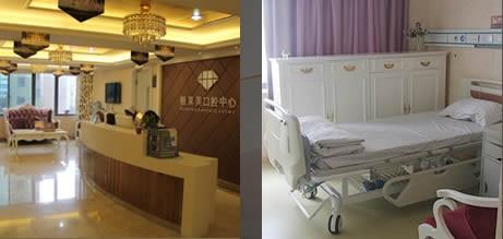 病房和口腔美容中心前台环境