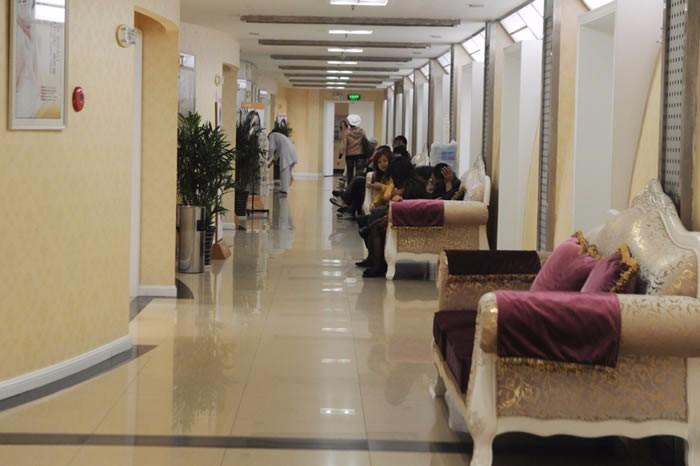 嘉兴曙光整形医院走廊