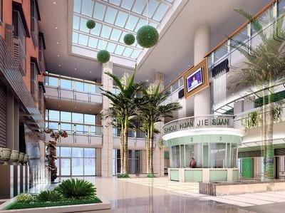 佳木斯中心医院整形阳光大厅
