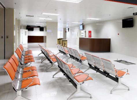 上海第九人民医院整形外科候诊室