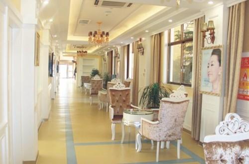 拉萨维多利亚整形美容医院休息区