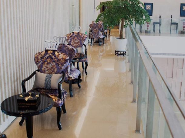 杭州甄美整形医院走廊