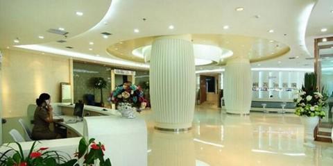 郑州陇海医院整形中心大厅