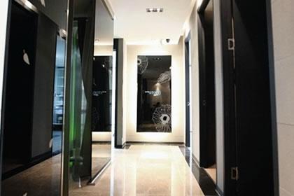 韩国狎鸥亭STORY整形外科医院走廊