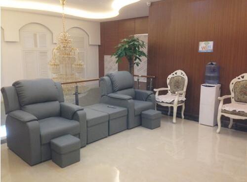 郑州妍琳整形医院候诊区