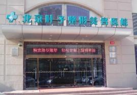 北京叶子整形美容医院大门