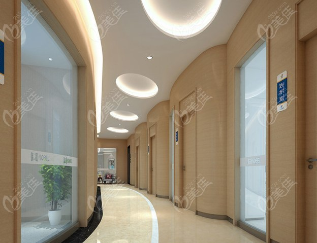 诊室外走廊