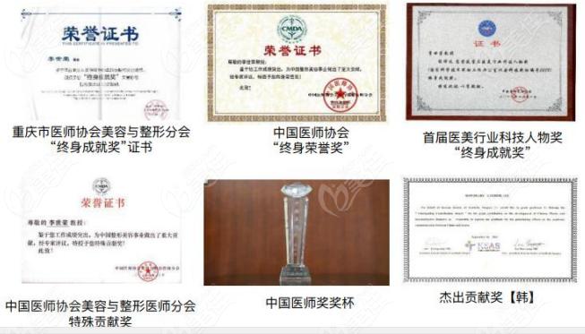 各类荣誉认证