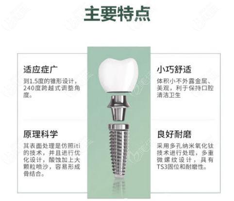 上海美呀植牙奥齿泰种植牙价格和优点