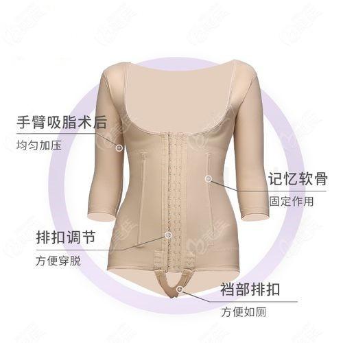 腰腹吸脂后需要穿到的塑身衣