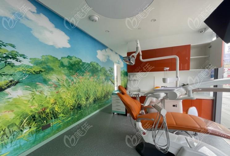 宁波恒美口腔室内就诊环境及牙椅