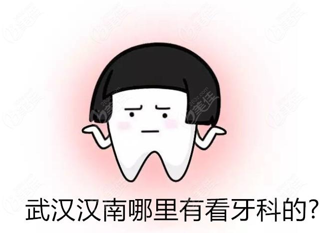 武汉汉南哪里有看牙科的